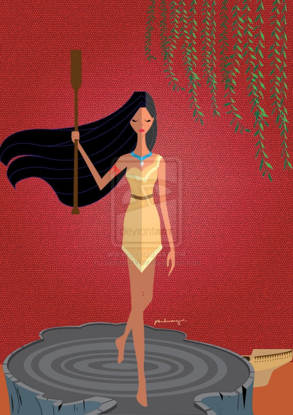 origami___pocahontas_by_amadeuxway-d5gvhd9