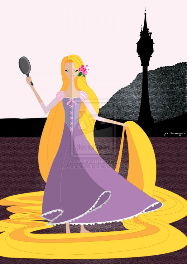 origami___rapunzel_by_amadeuxway-d5gvimg