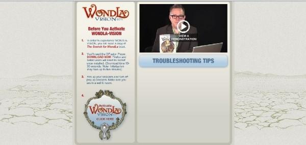 Wondla screen shot 2